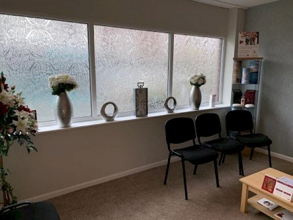Waiting area at our Halesowen Branch.